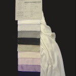Crepe Satin: pura seta in 11 varianti di tinto in pezza